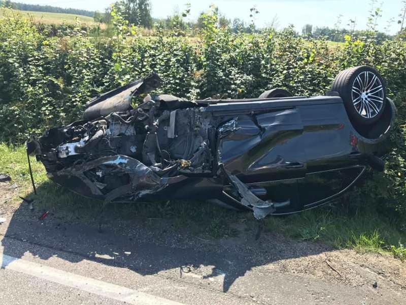 Wypadek drogowy na trasie Rokity – Rokiciny