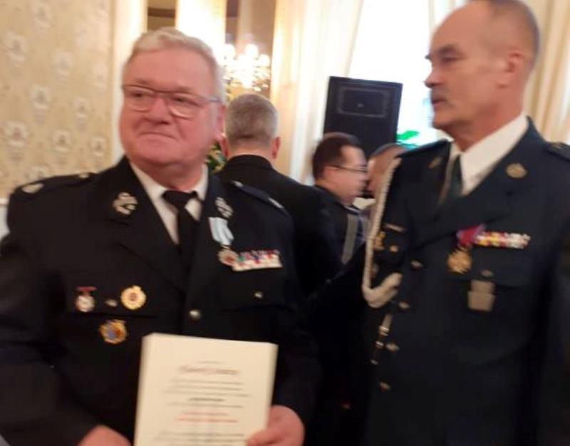 Odznaka Ministra Zdrowia dla Andrzeja Rusieckiego