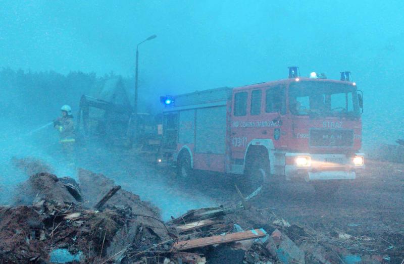 Pożar w Sierominie